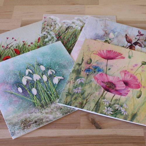 Floral Collection of greetings cards
