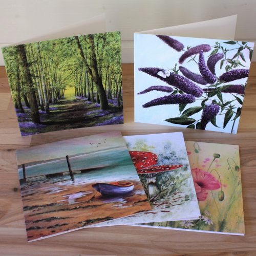 Selection pack of greetings cards