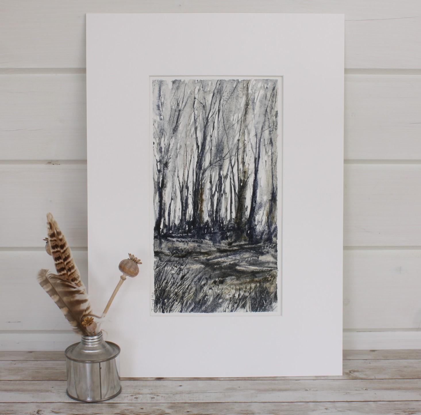 Winter, Woodland Series