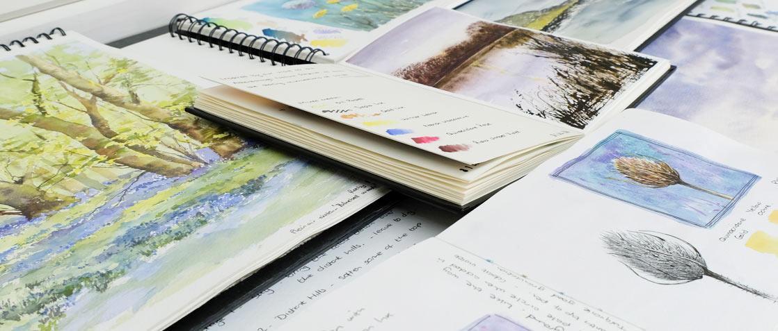 Sketchbook Banner