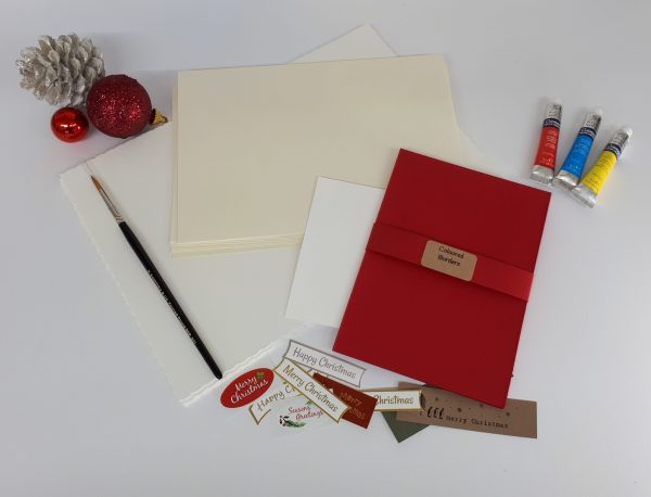 Paint Your Own... A5 Christmas Cards Letterbox Gift
