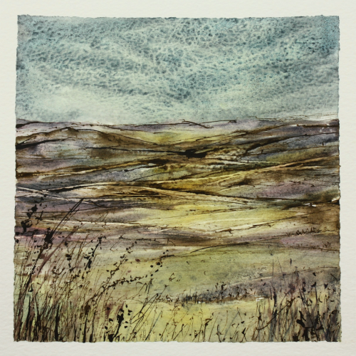 Wandering - a contemporary landscape painting