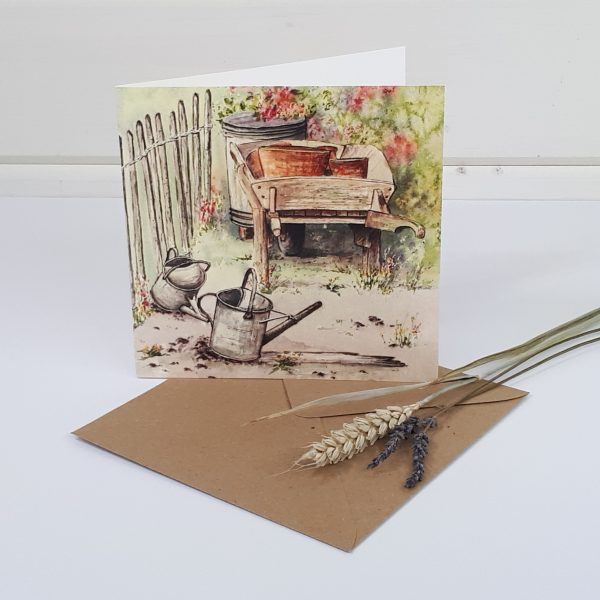 Compost Corner - a garden greetings card