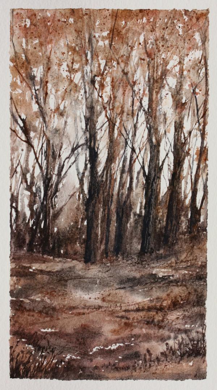 Autumn - a contemporary landscape painting