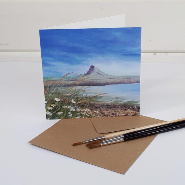 Solitude - a Lindisfarne greetings card