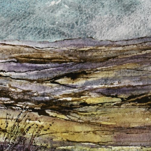 Time to Explore - a contemporary landscape painting