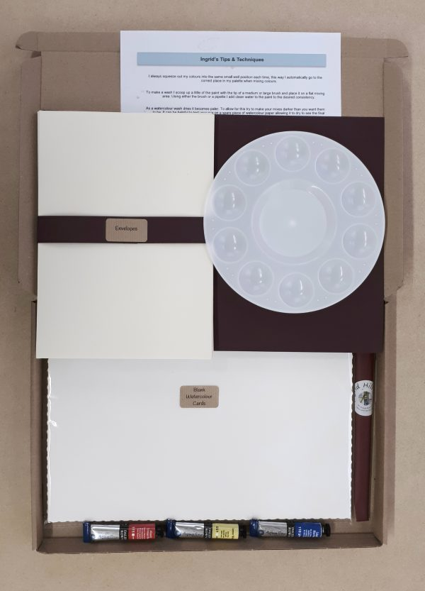 Paint Your Own Greetings Cards Kits