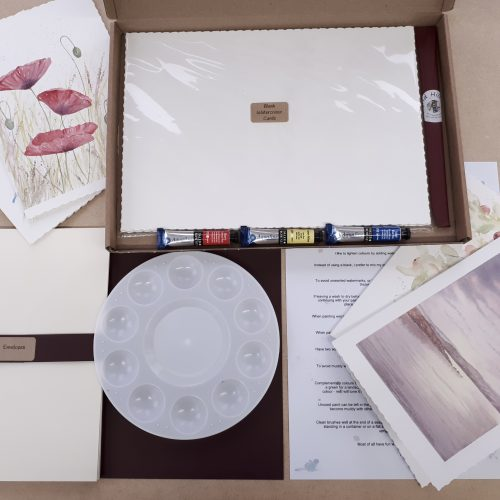 Paint Your Own Greetings Card kit
