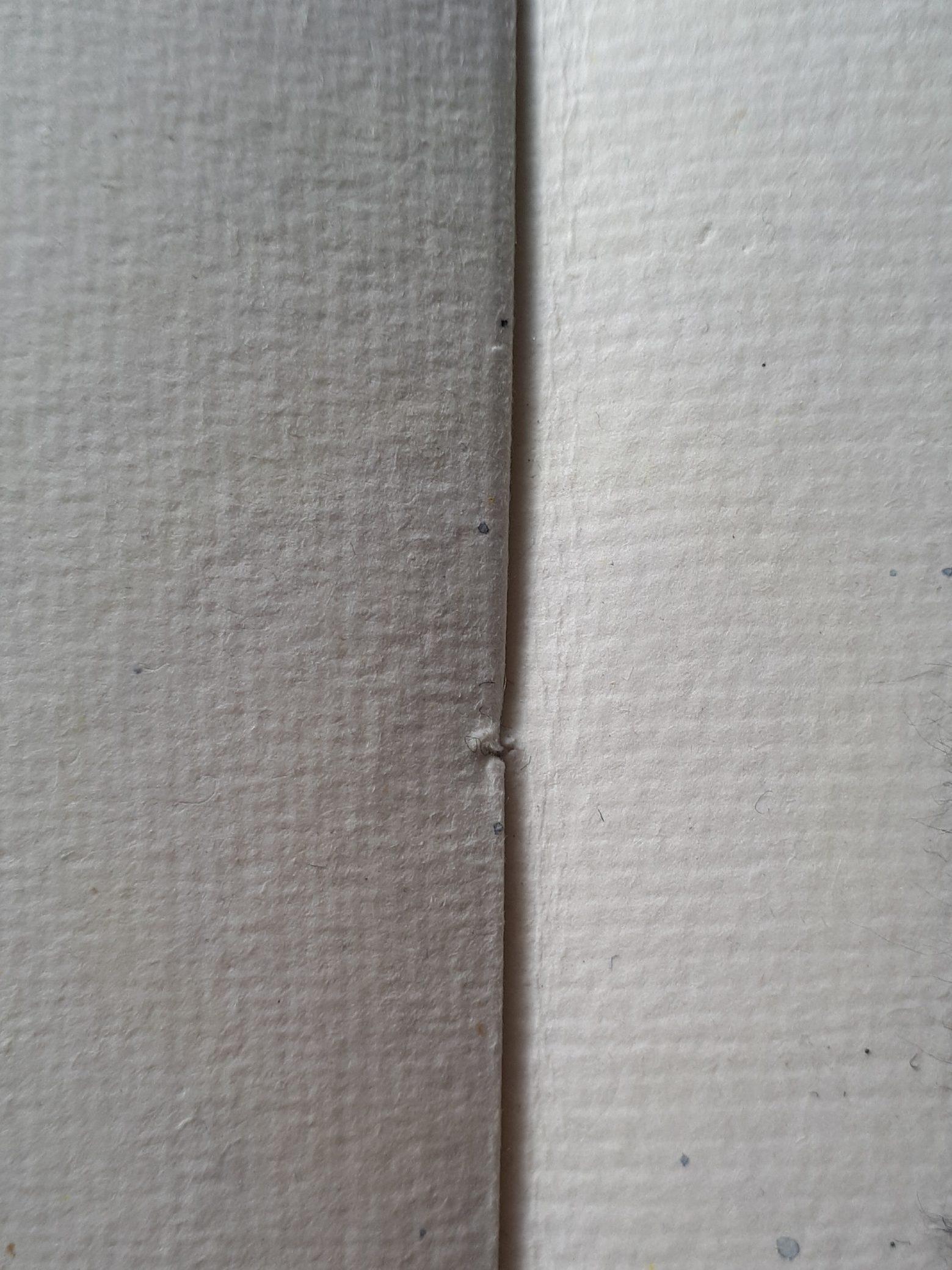 Khadi paper surface