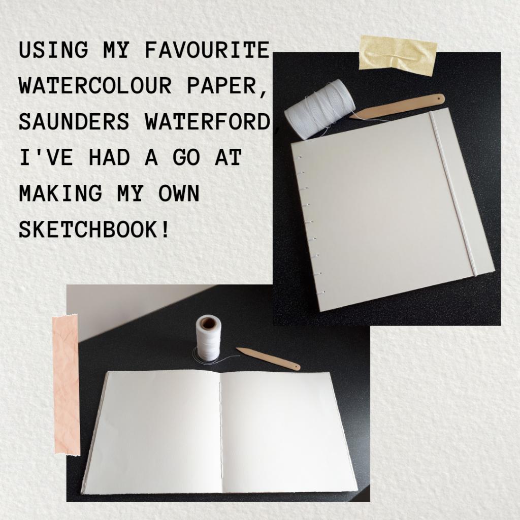 Making a sketchbook