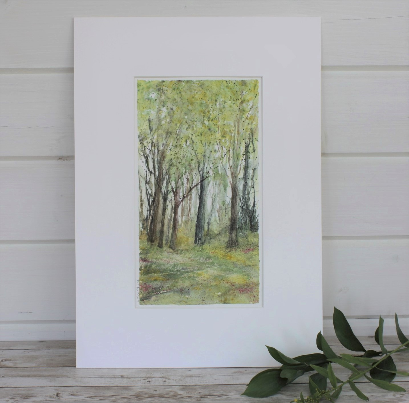 Summer, Woodland Series Mixed Media